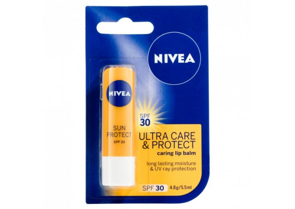 Nivea Lip Care Ultra Care & Protect Spf30+ 4.8G