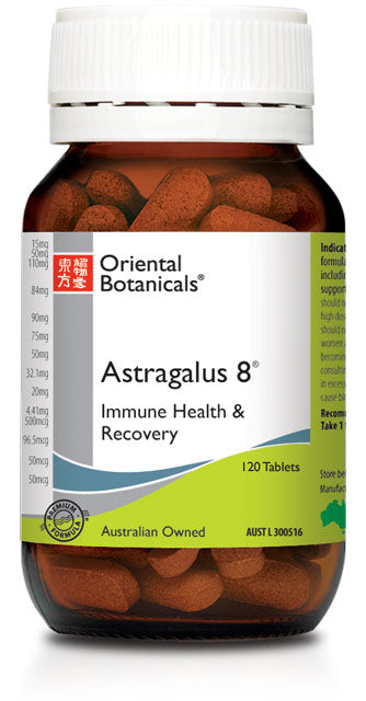 Astragalus 8  helps immune system support good health.