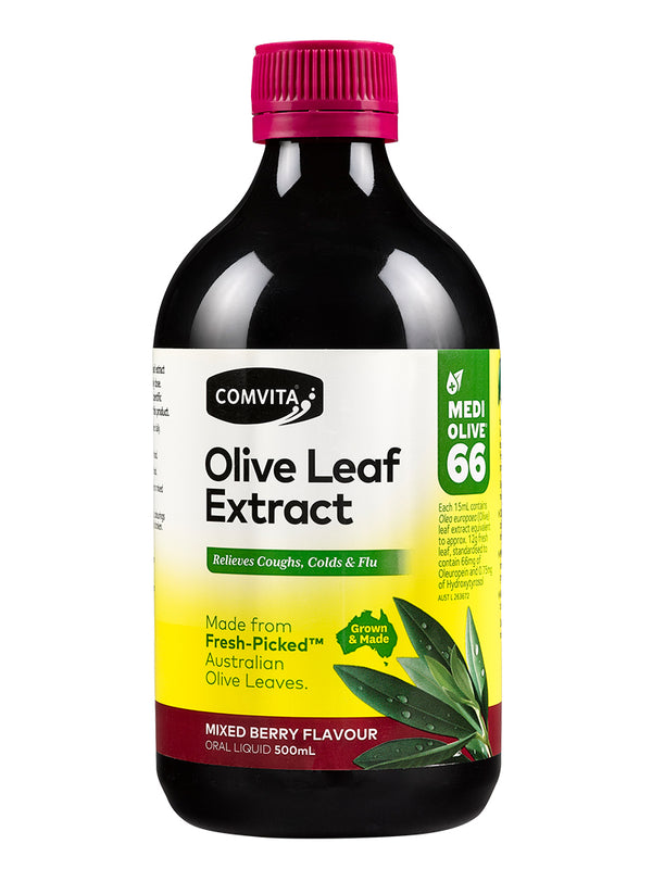 Comvita Fresh-Picked Olive Leaf Extract Mixed Berry Flavour 500ml