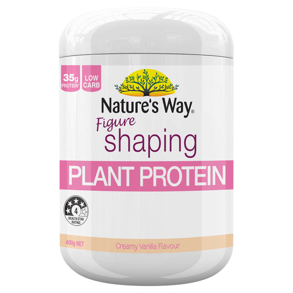 Natures Way Slim Right Vanilla Shake 375G