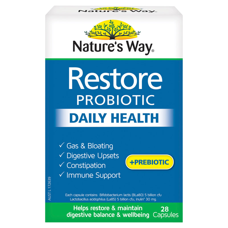 Natures Way Restore Daily 28 Caps