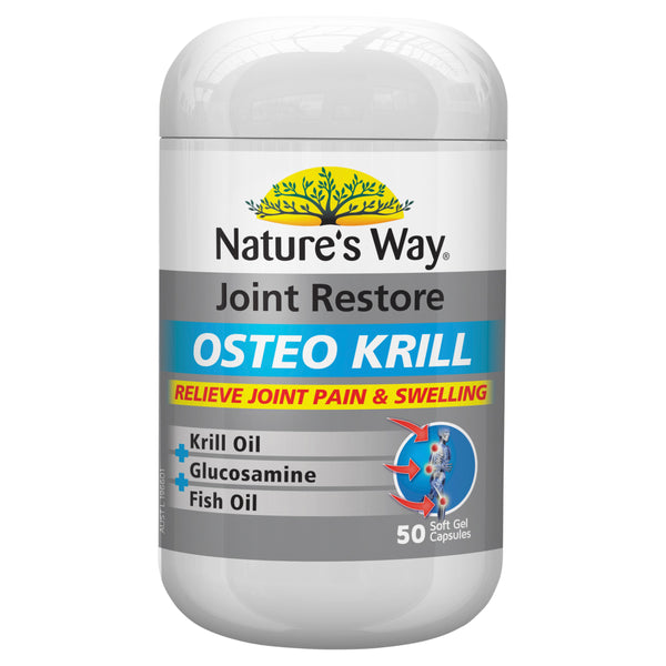 Natures Way Osteo Krill 50 Caps