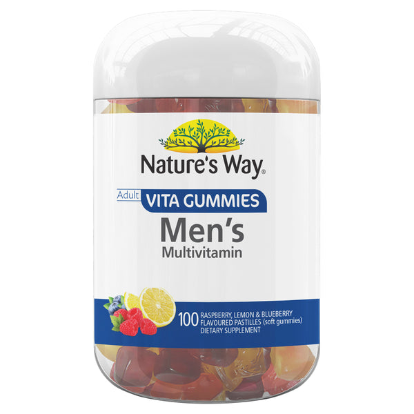 Nature Way Mens Multi Vitamin Gummies 100 Chews