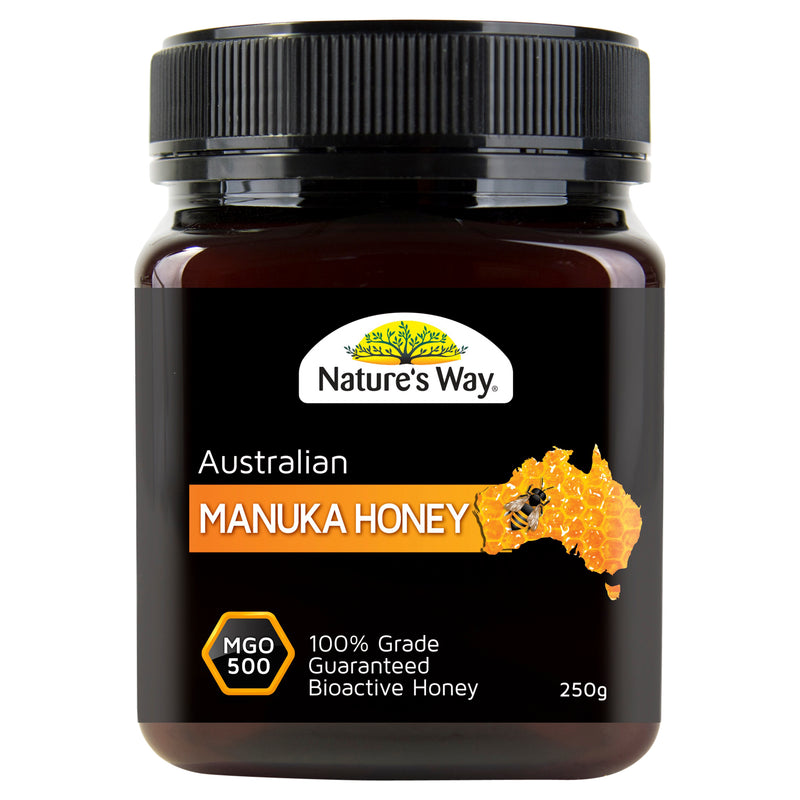 Natures Way Manuka Honey Mgo 500 250G