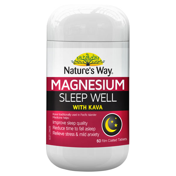 Natures Way Magnesium Sleep Well 60S