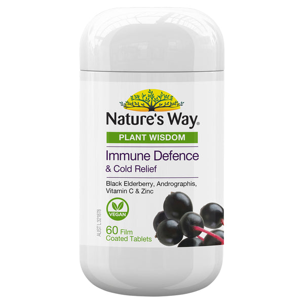 Natures Way Plant Wisdom Immune 60S