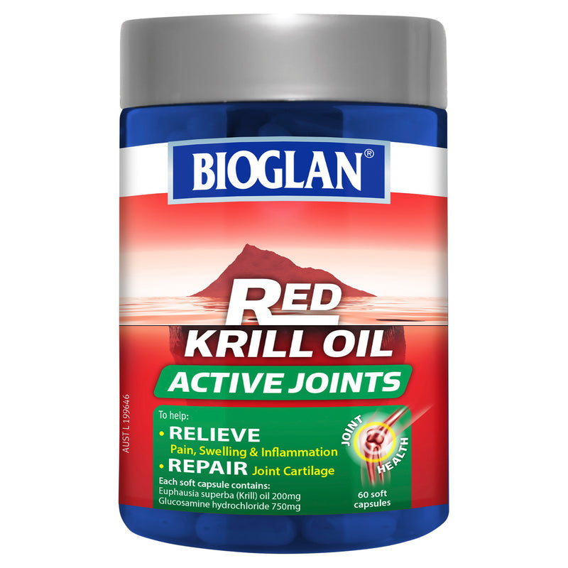 Red Krill Oil Active Joints 60 Caps