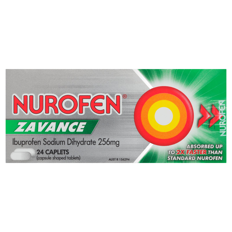 Nurofen Zavance Caps 24