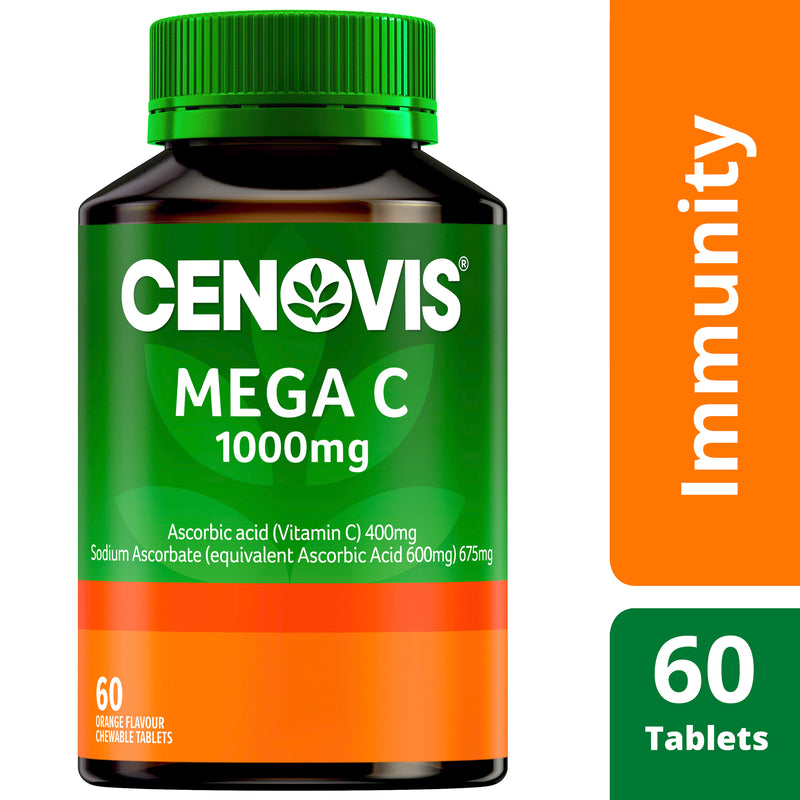 Cenovis Mega C 1000Mg 60 Tablets