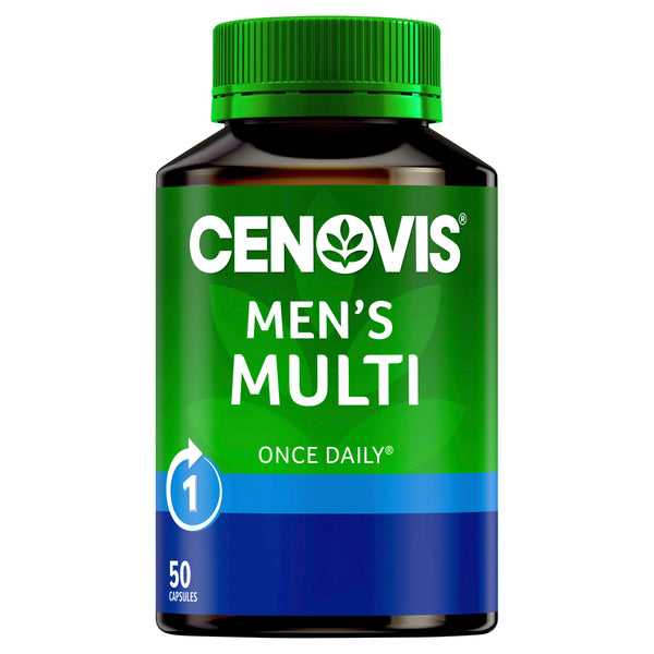 Cenovis Once Daily Mens Multi 50 Caps