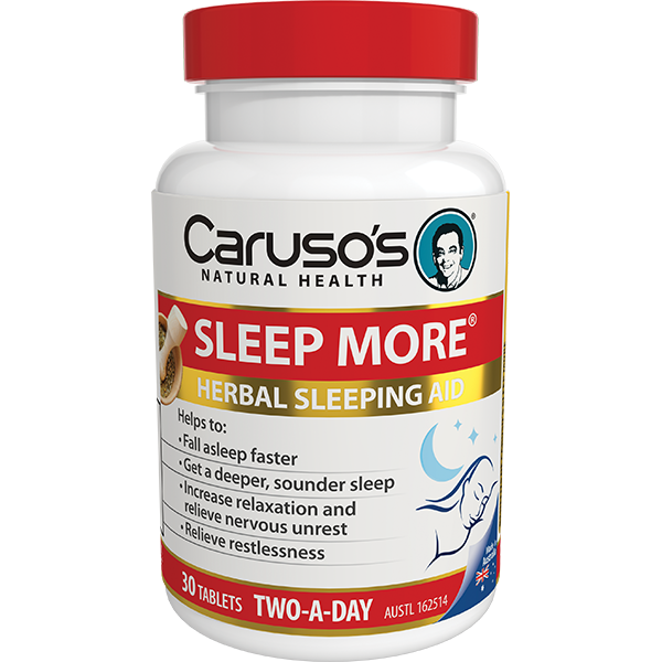 Caruso's Sleep More® 30 Tablets
