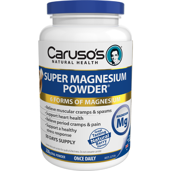 Caruso's Super Magnesium Powder® Lemon Lime 250G
