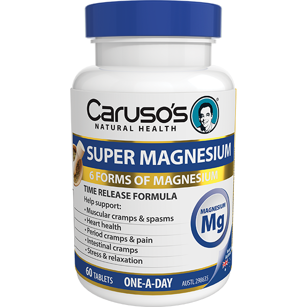 Caruso's Super Magnesium 60 Tablets