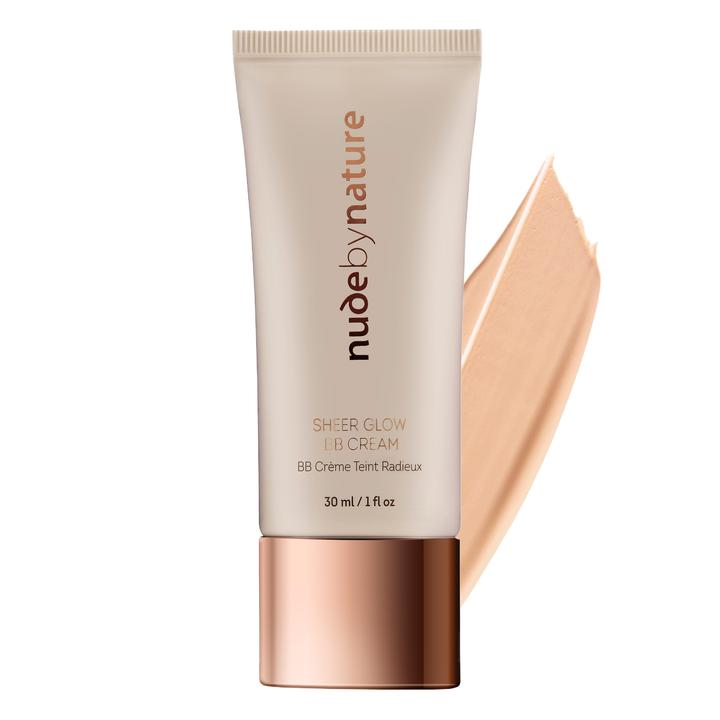 Nude By Nature Sheer Glow BB Cream Soft Sand 30ml