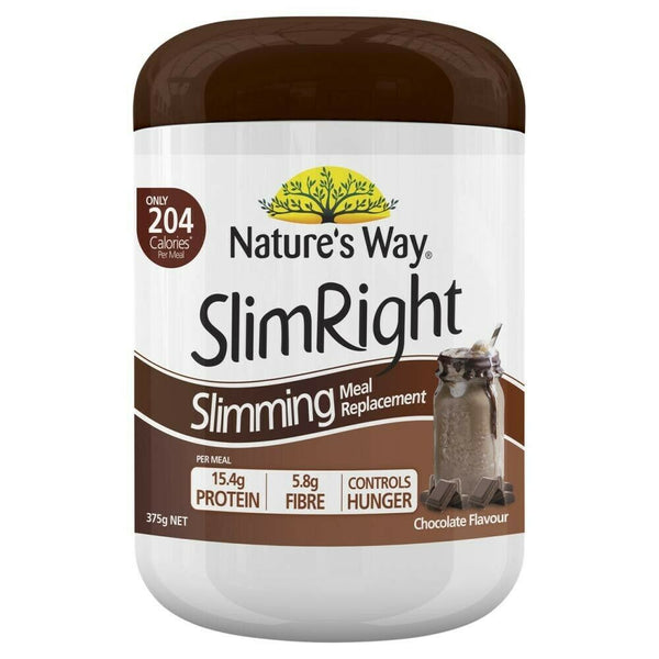 Natures Way Slim Right Chocolate Shake 375G