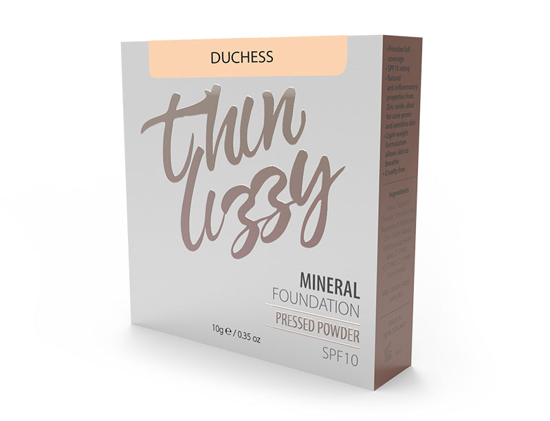 Thin Lizzy Pressed Mineral Foundation Duchess