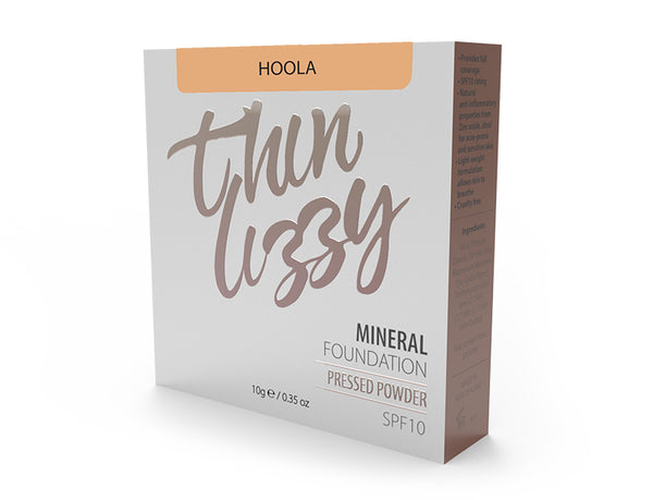 Thin Lizzy Pressed Mineral Foundation Hoola