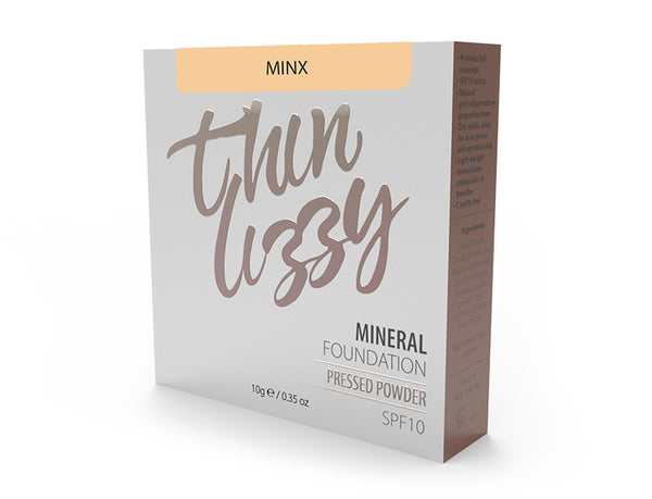 Thin Lizzy Pressed Mineral Foundation Minx