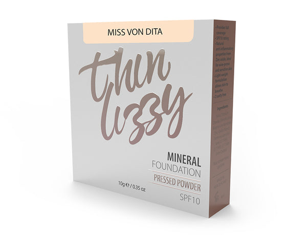 Thin Lizzy Pressed Mineral Foundation Miss Von Dita