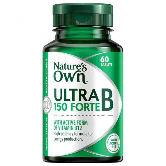 Natures Own Ultra B Forte 150Mg 60Tabs