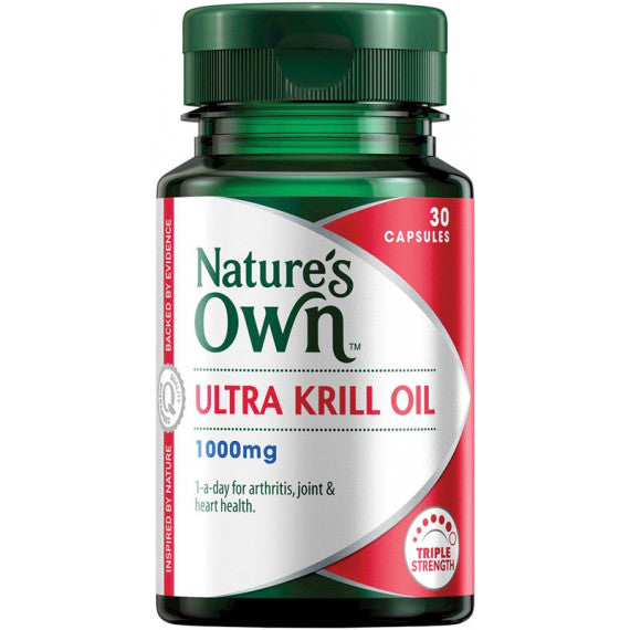 Natures Own Ultra Krill Oil 1000mg 30 Caps