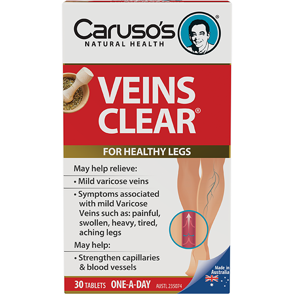 Caruso's Veins Clear® 30 Tablets