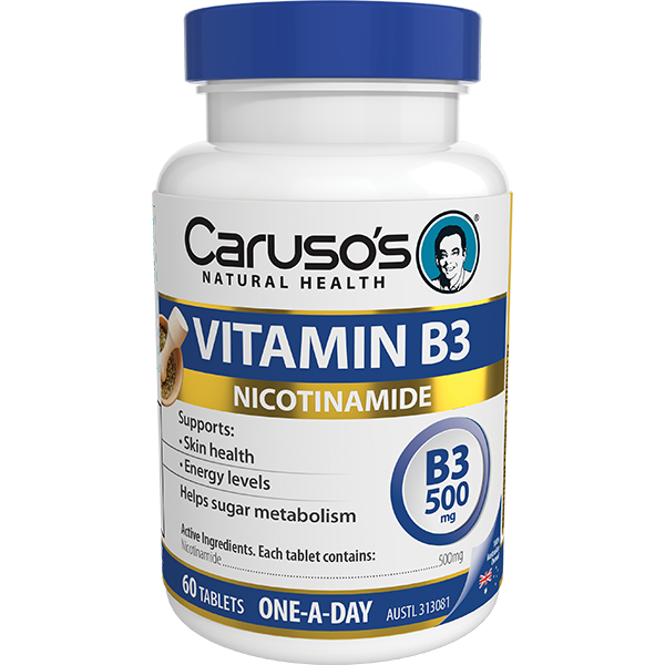 Caruso's Vitamin B3 60 Tablets