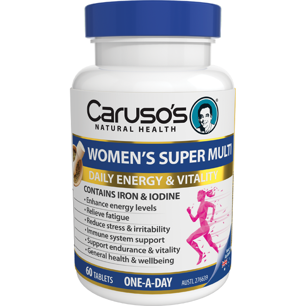 Caruso's Women's Super Multi 60 Tablets