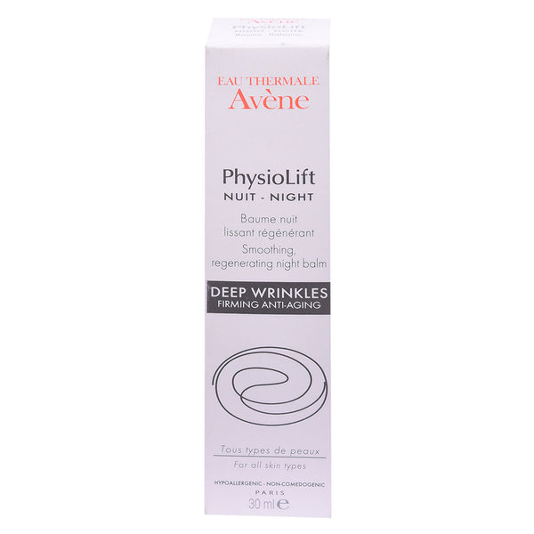 Avene Physiolift Night Smoothing Cream 30ml