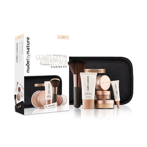 Nude By Nature Complexion Essential Starter Kit Light - Medium