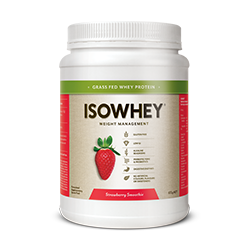 Isowhey Weight Loss Shake Strawberry Smoothie 672G