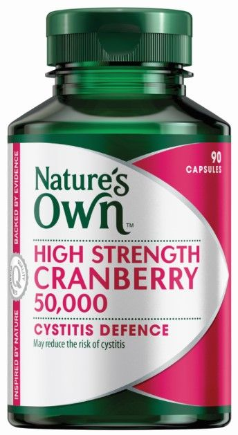 Natures Own High Strength Cranberry