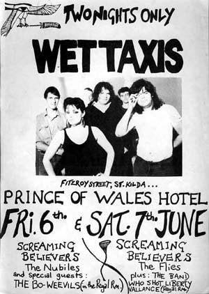 Wet Taxis Live at POW (Digital Album) Digital Albums