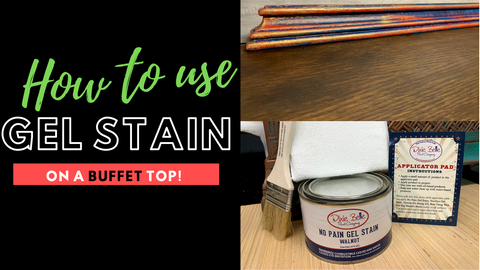 How to Apply Gel Stain, Texas Gypsy Style, Furniture Stain & Finish Video Tutorial