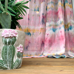 boho belle painting DIY curtains