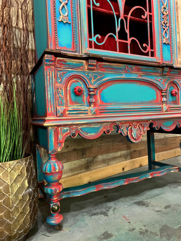 Texas Gypsy Style Furniture Painting Technique