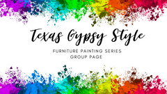 Texas Gypsy Style, Furniture Painting Series, Online Furniture Painting Classes