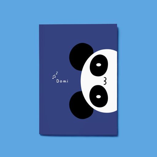 Domi Panda Composition Notebook - 8.25″ x 5.5″