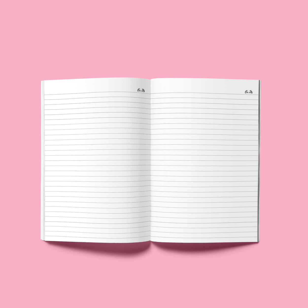 "Sola Panda Composition Notebook - 8.25"" x 5.5"""