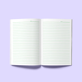 English Writing Practice Book (NYC Purple)
