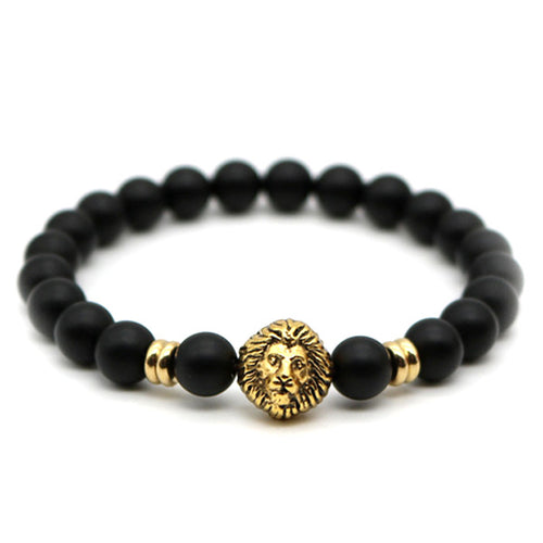 FREE Matte Stone Lion Bracelet (Limited time)