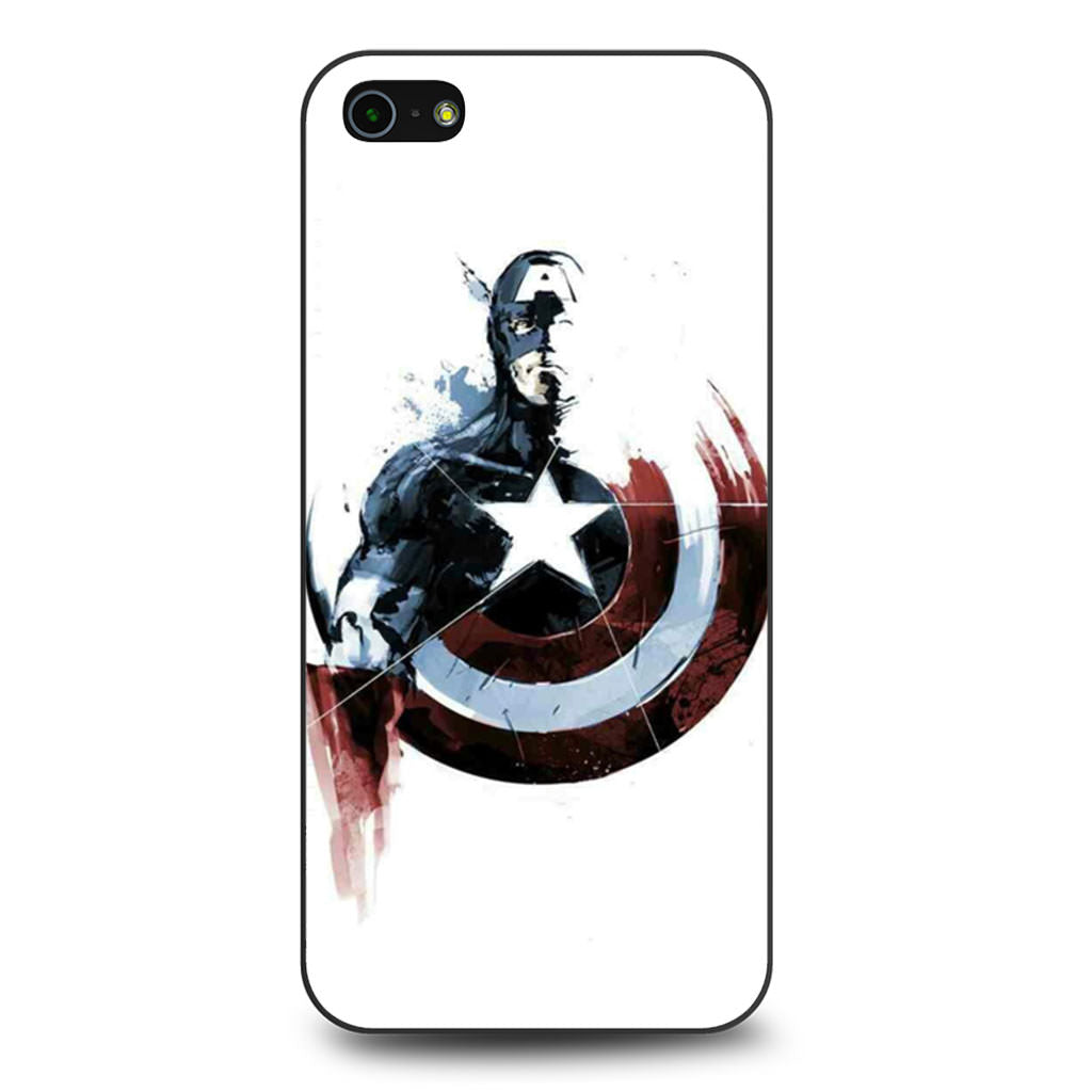 Captain America Painting iPhone 5/5s/SE case
