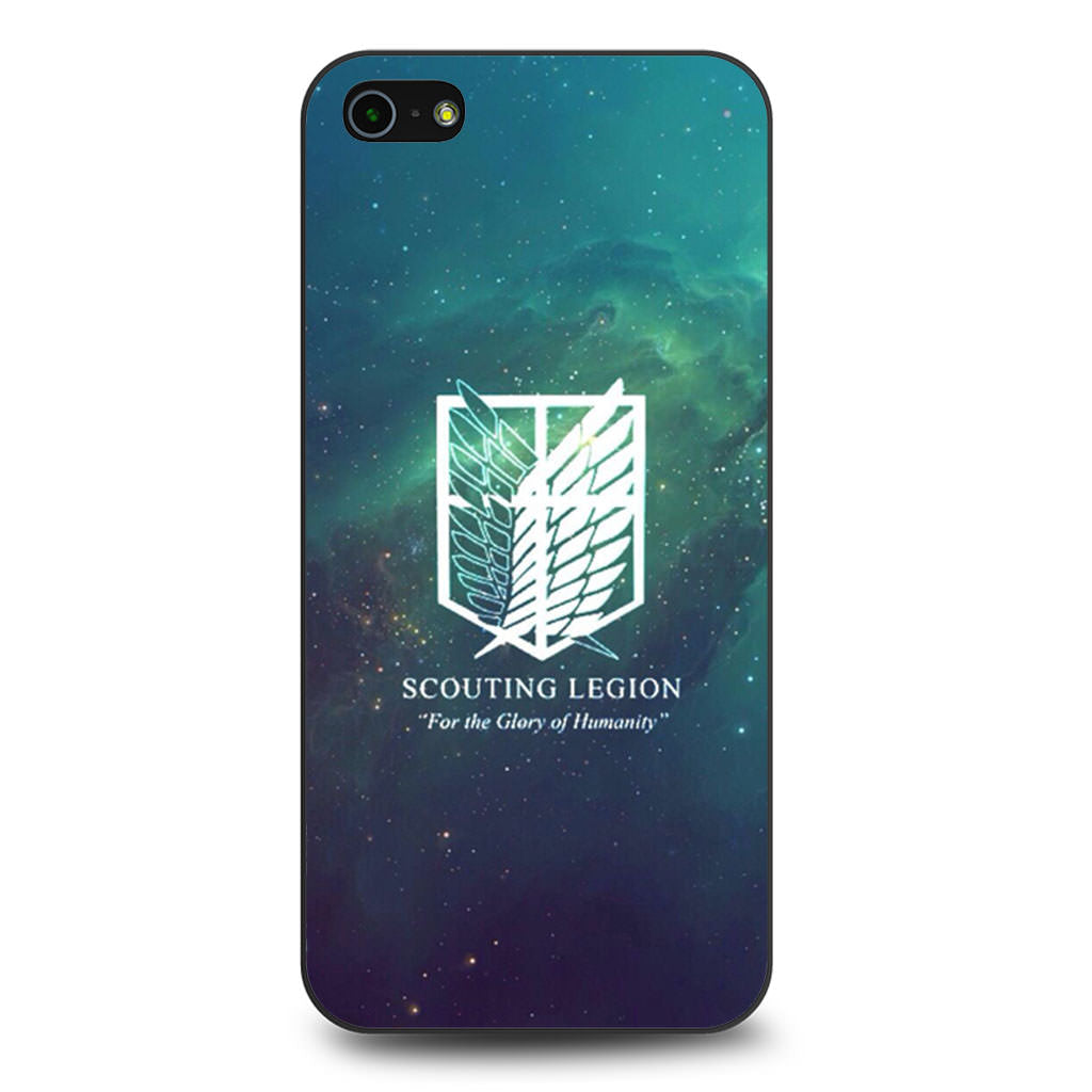 Attack On Titan Scouting Legion iPhone 5/5s/SE case