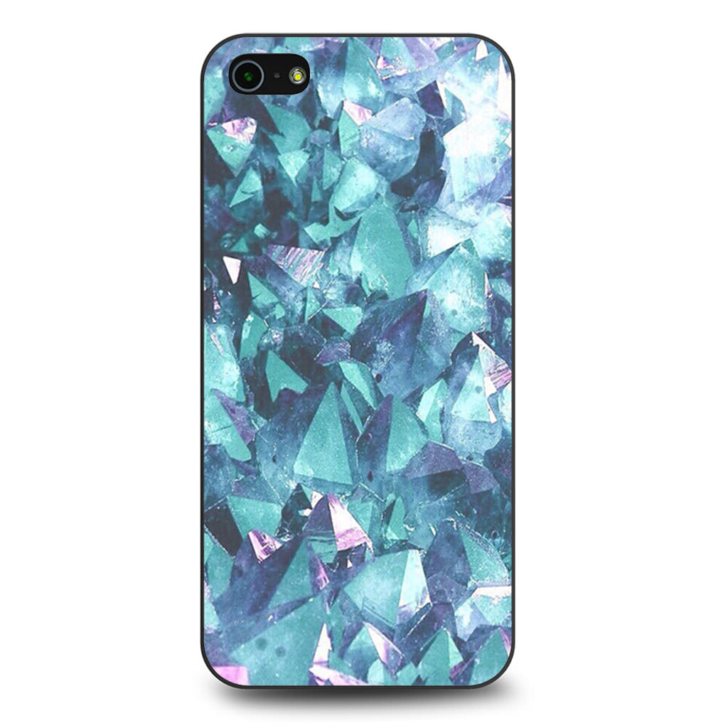 Crystal Purple iPhone 5/5s/SE case