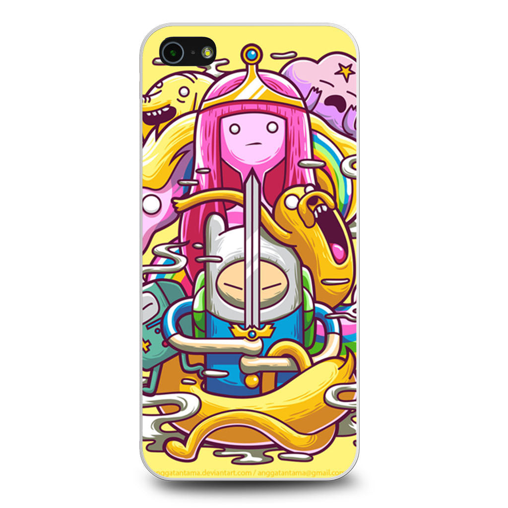Adventure Time With Finn & Jake iPhone 5/5s/SE case