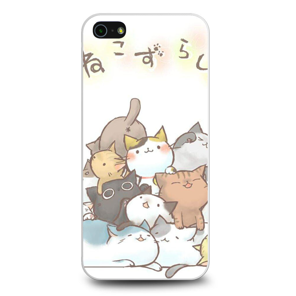 Cute Cat Art iPhone 5/5s/SE case