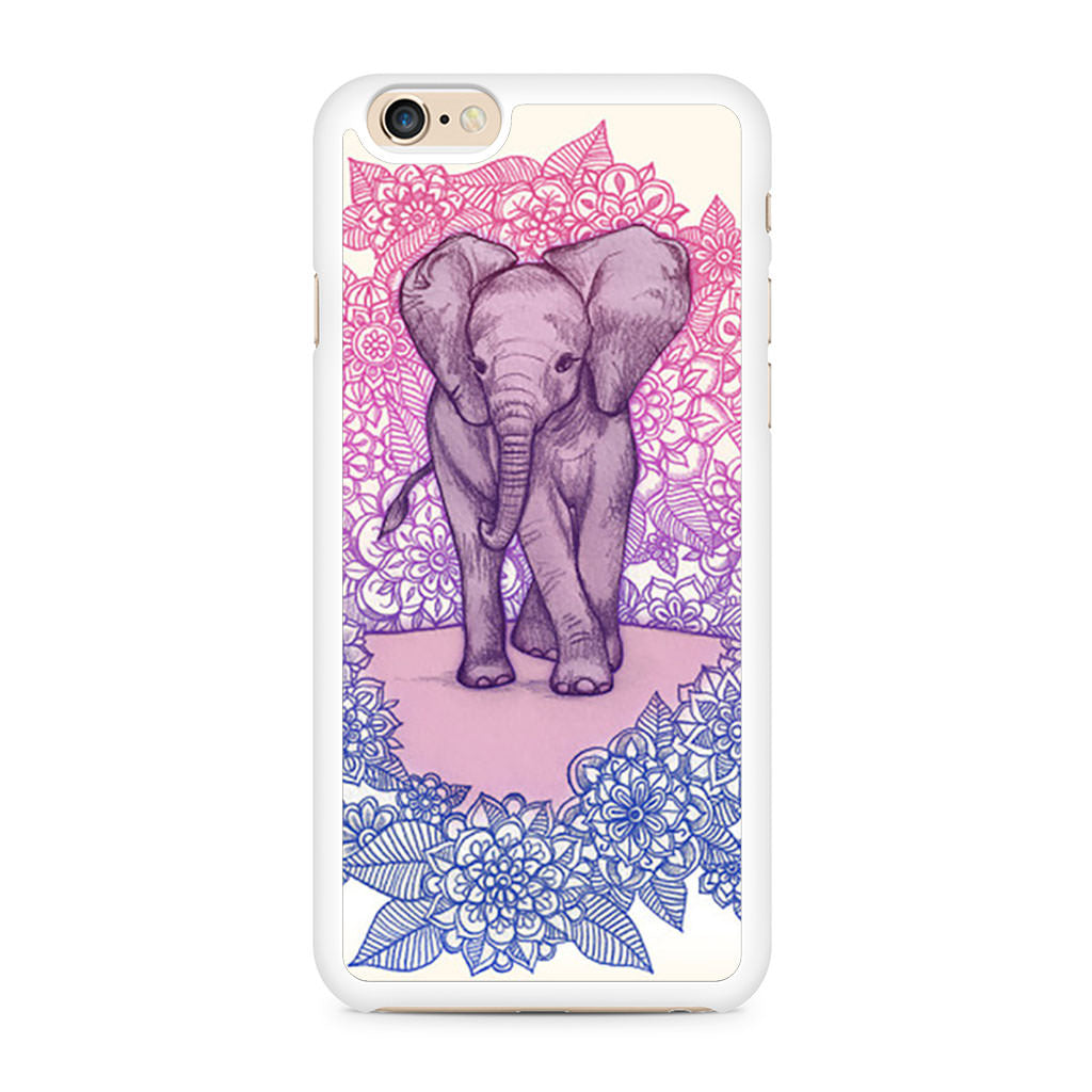 Cute Baby Elephant iPhone 6/6s case