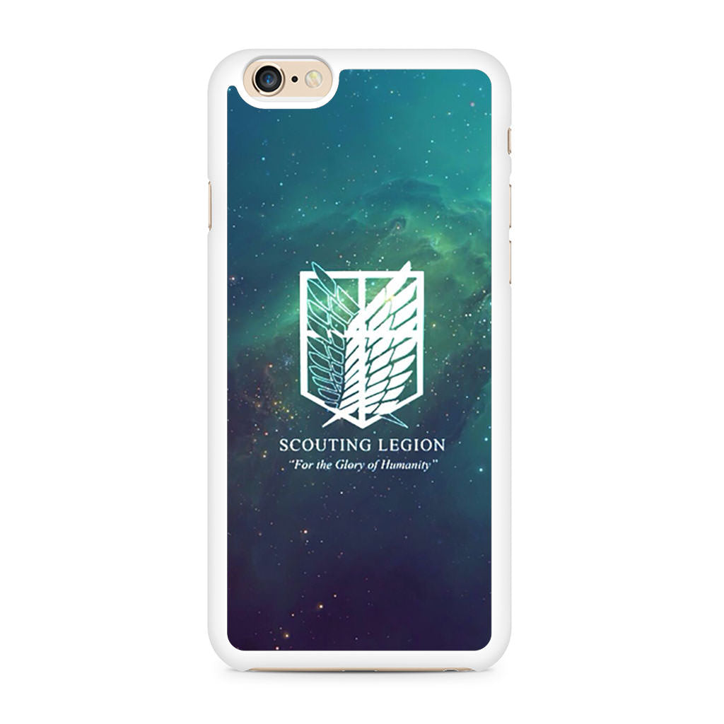 Attack On Titan Scouting Legion iPhone 6/6s case