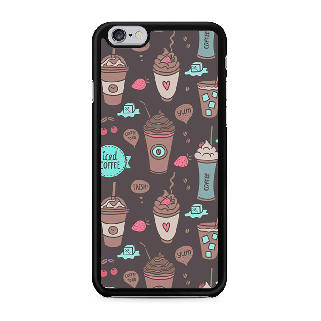 Coffe Pattern iPhone 6/6s case