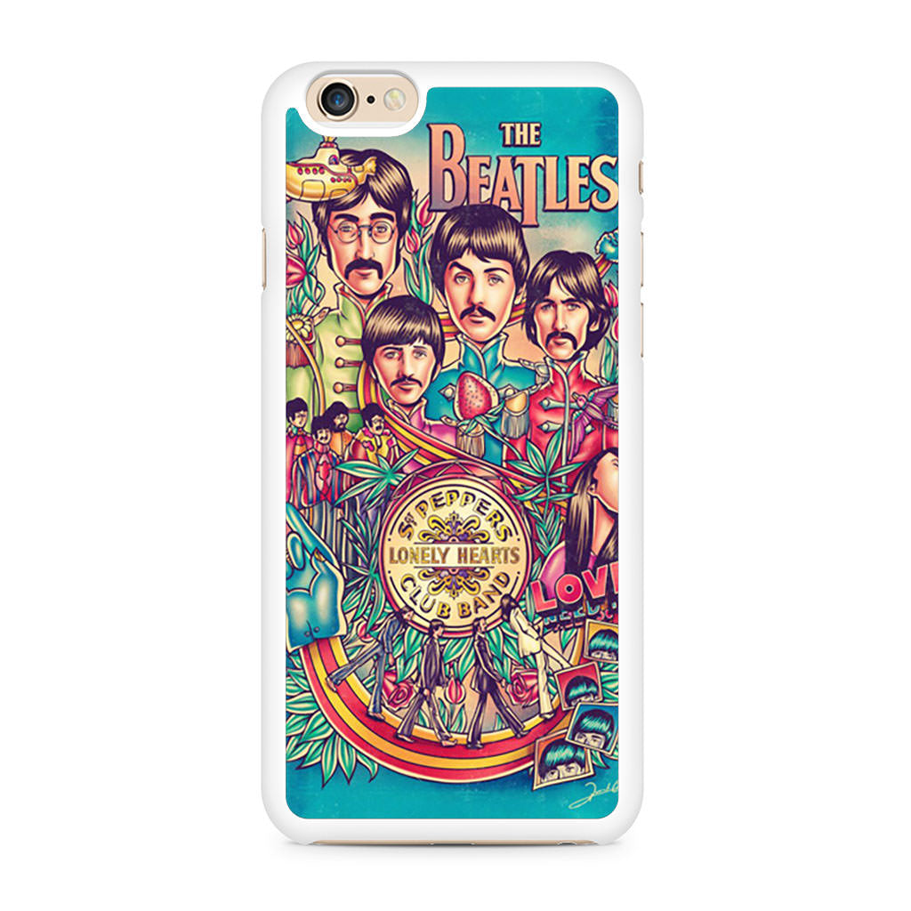 Beatles Poster iPhone 6/6s case